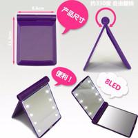 Jual JUAL Cermin LED Terdapat 8 butir lampu LED,kaca rias mirror make up le Murah