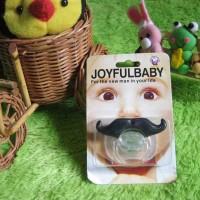 Jual Empeng Bayi Joyful  Lucu Bentuk Kumis Murah
