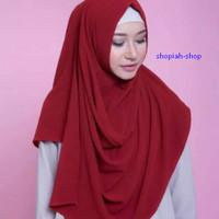jual Pashmina Instan Sala Oishi Hijab / Jilbab Oshi Premium termurah