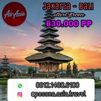 Jual Tiket pesawat AirAsia Jakarta Bali fixed promo Murah