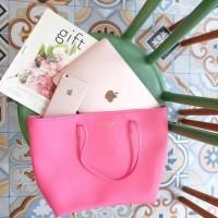 Jual Custom Initial Nama Tas Serenity Bag Pink