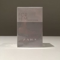 Zara for Him Silver Edition Zara for Men ~ Parfum Original Reject