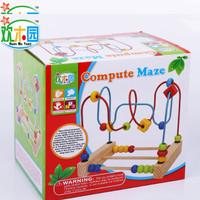 Jual Mainan Edukasi Kayu Wire Puzzle Compute Maze Murah