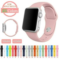 Jual NEW COLOR premium strap apple watch sport band 38mm hight quality Murah