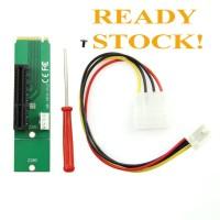 PCI-E 4X Female to NGFF M.2 M Key Male Adapter Converter Card PCIE M2