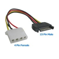 Kabel Power SATA (Male) to ATA / IDE / Molex (Female)