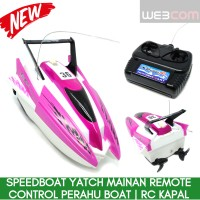 Speedboat Yatch Mainan Remote Control Perahu Boat | RC Kapal