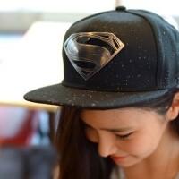 harga Topi Snapback Superman Hitam Silver  Metal Import Tokopedia.com