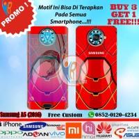 Original Garskin Samsung A5 2016 Motif Iron Man - Free Custom Gambar