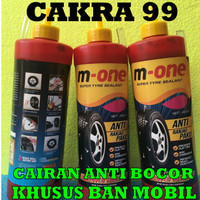 Cairan Anti Bocor Ban Mobil M ONE tyre sealent 800 ML