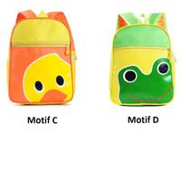 harga Tas Sekolah Tas Ransel Anak Motif Hello Kitty Cat Tororo Green Frog Tokopedia.com