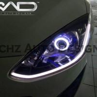 Headlamp Custom Mazda 2 , lengkap tinggal pasang, plug n play