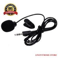 Harga mikrofon hp smartphone laptop tablet 3 5mm murah dengan klip | antitipu.com