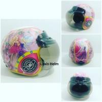 Helm Retro Bogo Anak Barbie SNI