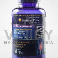 7 Day Formula Joint Soother Glucosamine, Chondroitin, Msm & Boswellia