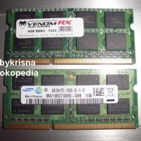 Jual Ram Laptop 4GB DDR3 memori Sodim SODIMM Memory 4G. Murah