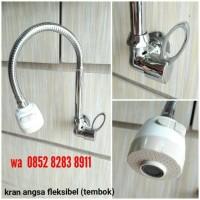 Jual Kran Angsa Fleksibel / Kran Cuci Piring / Kran Sink Tembok Murah