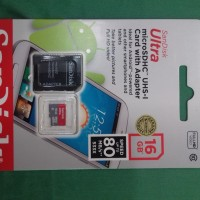 Sandisk Ultra Micro SD Card With Adaptor 16GB 80MB/s