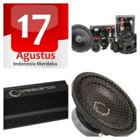 Promo 17 Agustus, paket audio speaker split, amp, subwoofer Crescendo