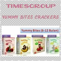 Jual TERMURAH GROSIR Yummy Bites Baby Crackers (50 gram) EXPIRE JULI 2018 Murah