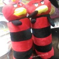 Jual guling mini boneka angry birds ( ada pooh hellokitty mickey mouse jg) Murah