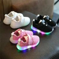 TERMURAH !! Sepatu anak LED KEREN Real Picture