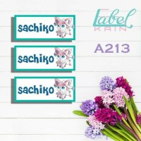 stiker label nama baju anak online shop hijab sekolah kotak