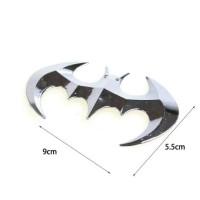 Emblem logo dada batman untuk variasi mobil bahan metal stainless