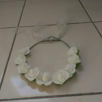 Jual bando/crown bunga/slinger - 12 pcs Murah