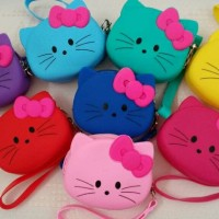 Jual Dompet Koin Hello Kitty/ Tempat Lipstik Murah