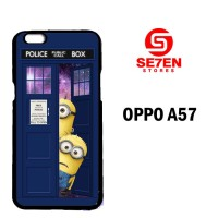 Casing Untuk Oppo A57 Despicable Me In Dr Who Tardi Custom Hard Case C