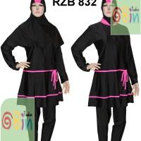 Jual Baju Renang Muslimah Syar'i S, M, L (Baju & Celana terpisah) Murah