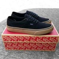 Sepatu Vans Authentic Black Gum - Ukuran 37-44