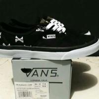 Sepatu Vans Authentic WTAPS Bone Black PREMIUM - Ukuran 40-44