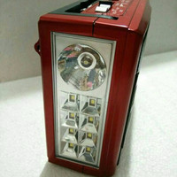 Jual TERLARIS radio asatron plus lampu emergency/ asatron r-1046usb Murah