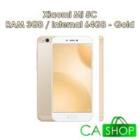 Xiaomi Mi5c 3/64 Gold - (Mi 5C 64GB) - Baru NEW - Garansi Distributor