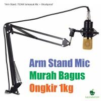Jual Arm Stand Mic/Microphone Suspension Siku Murah Murah