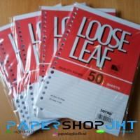 GROSIR!!! Loose Leaf Joyko A5 50 lembar / Isi Refill Kertas File