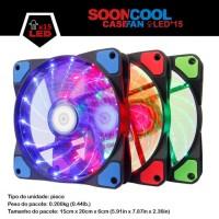fan led casing sooncool 12cm cooler fan casing