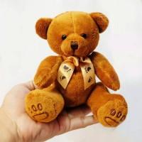 Boneka teddy bear sovenir merchsindise, boneka lempar wedding nikah