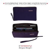 Jual Handphone Pouch Organizer D'renbellony (Dompet Kartu HPO Murah) Purple Murah