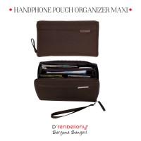 Jual Handphone Pouch Organizer D'renbellony (Dompet Kartu HPO Murah) Brown Murah