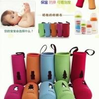 Cover botol susu bayi agar tetap hangat / Sarung botol susu / V-cool