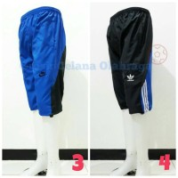 Jual Celana Olahraga 3/4 Stopper Nike Adidas Bahan Parasut/Despo Murah