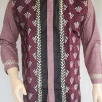 Jual Baju Koko Branded Muslim Madani Bordir Mewah panjang MM988 Murah