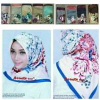 Jual Jilbab / Hijab Segi Empat Satin Silk Premium (Kerudung Mewah) Murah