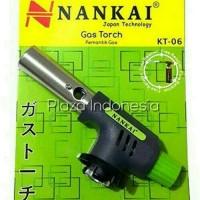 Kepala Gas Torch / Pemantik Api / Alat Las NANKAI KT-06