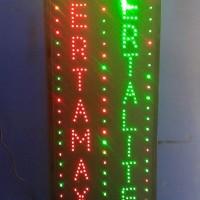 Tulisan Lampu Led Sign PERTAMAX PERTALITE - LIKE RUNNING TEXT