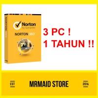 NORTON SYMANTEC 360 3 PC 1 Tahun