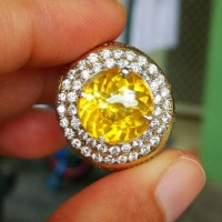 NATURAL FIRE OPAL YELLOW CANARY